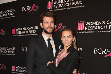 Miley Cyrus Liam Hemsworth The Women's Cancer Research Fund's An Unforgettable Evening Benefit Gala - Arrivals