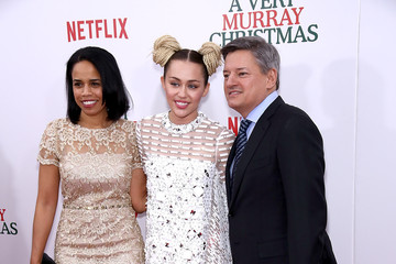 Miley Cyrus 'A Very Murray Christmas' New York Premiere
