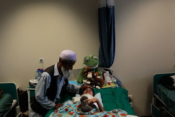 Abdul Rahman Military Hospitals Treat Soldiers And Civilians Alike In Kandahar