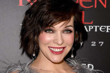 Milla Jovovich Premiere Of Sony Pictures Releasing's 'Resident Evil ...