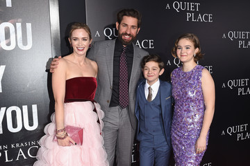 Millicent Simmonds Noah Jupe Paramount Pictures presents the New York Premiere of 'A QUIET PLACE'