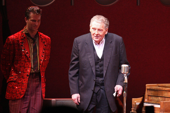 """Million Dollar Quartet"" Welcomes Jerry Lee Lewis For Finale Performance"