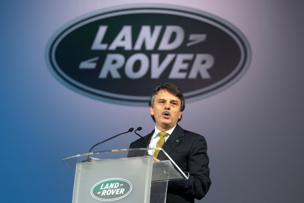 ralf speth in the millionth land rover discovery is made zimbio. Black Bedroom Furniture Sets. Home Design Ideas