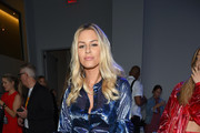 Morgan Stewart attends the Milly by Michelle Smith front row during New York Fashion Week: The Shows at Gallery II at Spring Studios on September 7, 2018 in New York City.