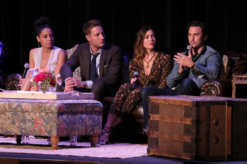 Milo Ventimiglia Susan Kelechi Watson 20th Century Fox Television And NBC's 'This Is Us' FYC Screening And Panel - Inside
