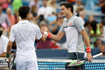 Milos Roanic Western & Southern Open - Day 7