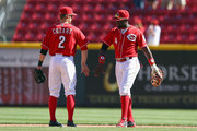 Brandon Phillips Zack Cozart Photos Photo