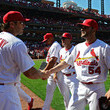 Mike Matheny Jaime Garcia Photos