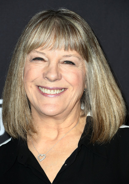 The Paley Center For Media's 35th Annual PaleyFest Los Angeles - 'Mom' - Arrivals [television show,hair,face,hairstyle,blond,chin,eyebrow,layered hair,forehead,bangs,smile,mom,mimi kennedy,arrivals,los angeles,dolby theatre,california,paley center for media,paleyfest,cbs]