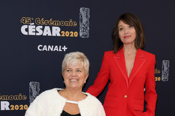Mimie Mathy Red Carpet Arrivals - Cesar Film Awards 2020 At Salle Pleyel In Paris