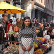 Mindy Kaling Tory Burch Spring/Summer 2022 Collection & Mercer Street Block Party - Front Row
