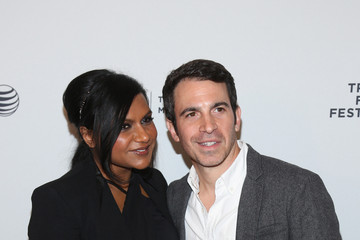"""Mindy Kaling Chris Messina 2014 Tribeca Film Festival After Party For """"Alex of Venice"""" At The Cabanas At The Maritime"""