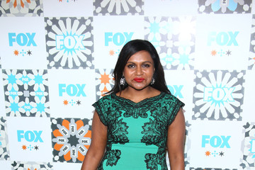 Mindy Kaling Arrivals at the Fox Summer TCA All-Star Party