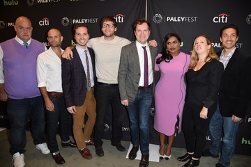 Mindy Kaling Ike Barinholtz The Paley Center for Media's PaleyFest 2016 Fall TV Preview - 'The Mindy Project' Red Carpet