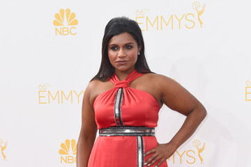 Mindy Kaling Arrivals at the 66th Annual Primetime Emmy Awards — Part 2