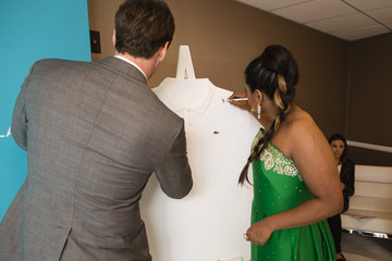 Mindy Kaling 17th Costume Designers Guild Awards With Presenting Sponsor Lacoste - Green Room