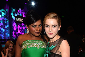 Mindy Kaling 17th Costume Designers Guild Awards With Presenting Sponsor Lacoste - Backstage And Audience