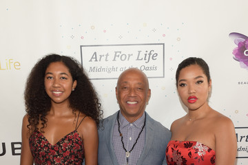 Ming Lee Simmons Russell Simmons' Rush Philanthropic Arts Foundation Hosts the Midnight at the Oasis Annual Art for Life Benefit - Arrivals