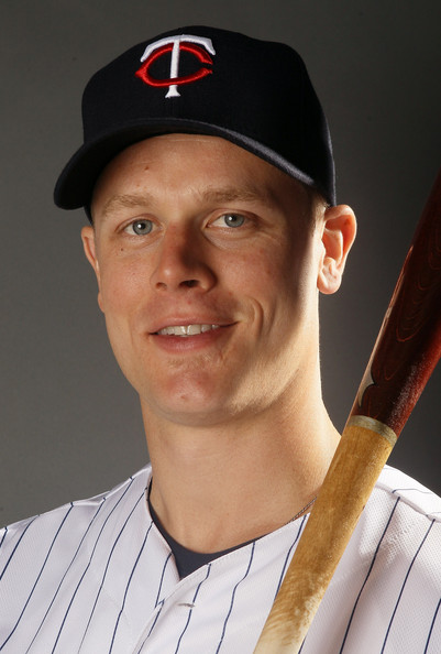 Justin Morneau - 2018 Light Brown hair & alternative hair style. Current length:  short hair