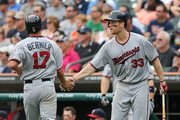 Justin Morneau Chris Herrmann Photos Photo