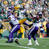Jimmy Graham Photos - Jimmy Graham #80 of the Green Bay Packers is unable to make a catch during the fourth quarter of a game against the Minnesota Vikings at Lambeau Field on September 16, 2018 in Green Bay, Wisconsin. - Minnesota Vikings vs. Green Bay Packers