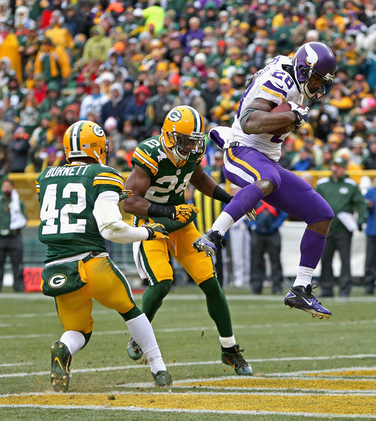 Peterson has found the Lambeau Field End zone many times already. Could we see many more, this time in a Packers uniform, resulting in friendly Lambeau Leaps?