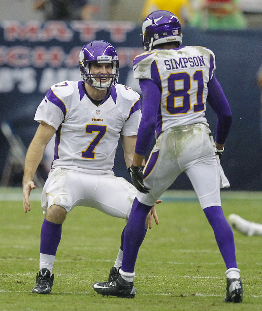 jerome simpson and christian ponder photos photos zimbio