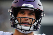 Quarterback Kirk Cousins #8 of the Minnesota Vikings looks on as they play against the Philadelphia Eagles during the second quarter at Lincoln Financial Field on October 7, 2018 in Philadelphia, Pennsylvania.