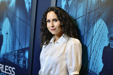 """Minnie Driver Premiere Of Warner Bros Pictures' """"Motherless Brooklyn"""" - Red Carpet"""