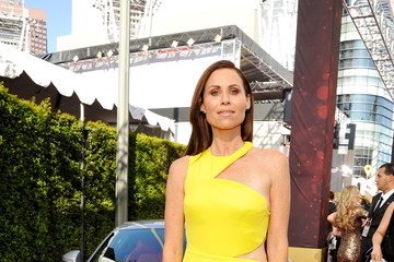 Minnie Driver Celebs Attend the Audi Event at the 68th Emmy Awards