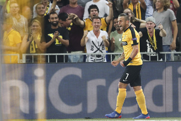 Miralem Sulejmani BSC Young Boys v Borussia Moenchengladbach - UEFA Champions League Qualifying Play-Offs Round: First Leg