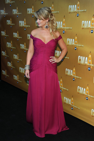 miranda lambert hot pink dress. miranda lambert hot pink