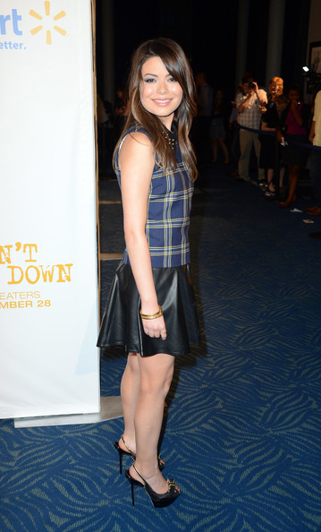 Miranda Cosgrove Actress Miranda Cosgrove attends CBS' Teacher's Rock Special Live Concert Press Room at Nokia Theatre L.A. Live on August 14, 2012 in Los Angeles, California.