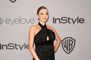 Miranda Kerr Warner Bros. Pictures And InStyle Host 19th Annual Post-Golden Globes Party - Arrivals