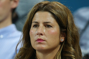 Mirka Federer 2016 Brisbane International - Day 6