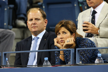 Mirka Federer 2012 US Open - Day 10