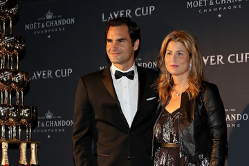 Mirka Federer Laver Cup Previews - Day 4
