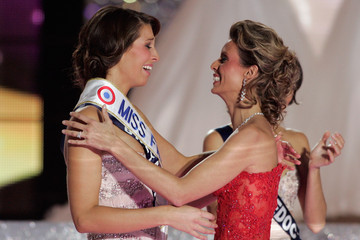 Sylvie Tellier Laury Thilleman Miss France Beauty Pageant 2011
