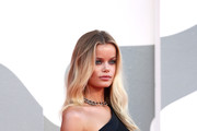 "Frida Aasen walks the red carpet ahead of the movie ""Miss Marx"" at the 77th Venice Film Festival on September 05, 2020 in Venice, Italy."