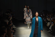 Irina Shayk and models walk the runway during the Missoni fashion show as part of Milan Fashion Week Fall/Winter 2020-2021 on February 22, 2020 in Milan, Italy.