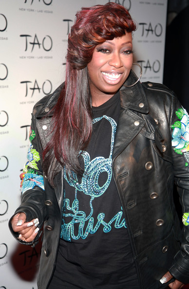 Missy Elliott Rapper Missy Elliott attends the 10th anniversary party at TAO on October 16, 2010 in New York City.