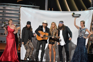 Missy Robertson General Views of the CMA Awards Trophy