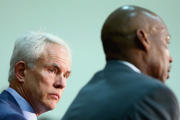 Mitch Kupchak Los Angeles Lakers Introduce Byron Scott