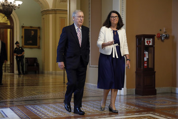 Mitch McConnell Senate Judiciary Committee Scrambles After Accusations Against Judge Kavanaugh
