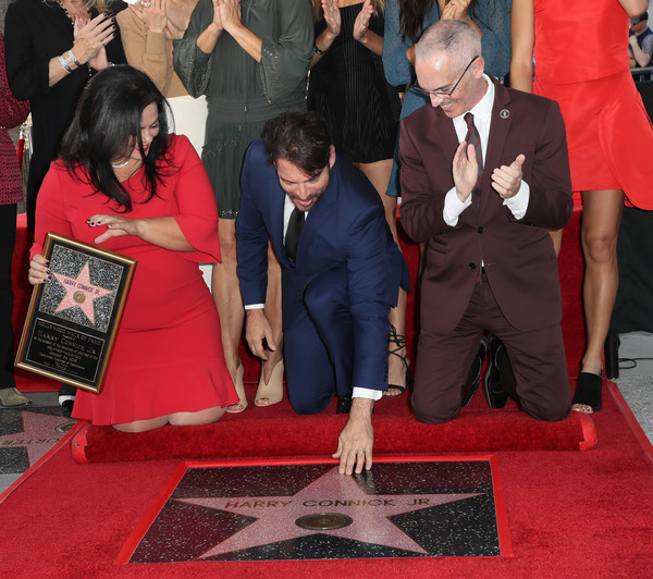 Harry Connick Jr. Honored With Star On Hollywood Walk Of Fame