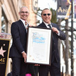 Mitch O'Farrell Tommy Mottola Honored With A Star On The Hollywood Walk Of Fame