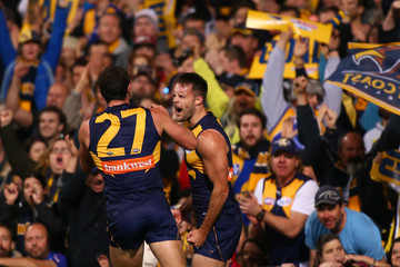Mitchell Brown AFL Second Elimination Final - West Coast v Western Bulldogs