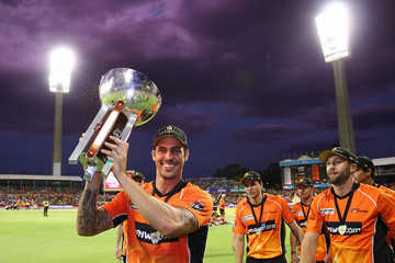 Mitchell Johnson Big Bash League - Final: Scorchers v Sixers