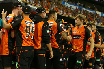 Mitchell Johnson BBL - Scorchers v Renegades