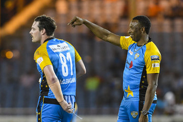 Mitchell McClenaghan St Lucia Stars vs. St Kitts And Nevis Patriots - 2018 Hero Caribbean Premier League (CPL) Tournament